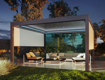 pergola bioclimatique outdoor living So!
