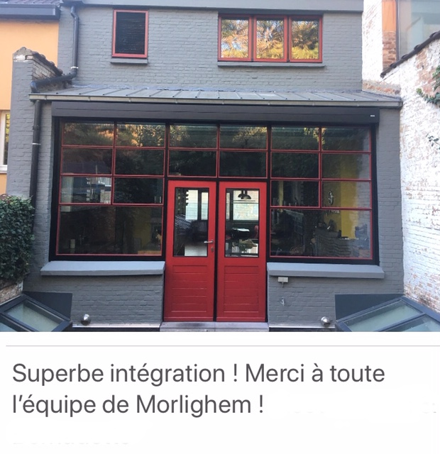 Morlighem protection solaire Tournai