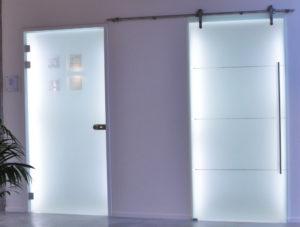 Morlighem kain porte en verre aménagement